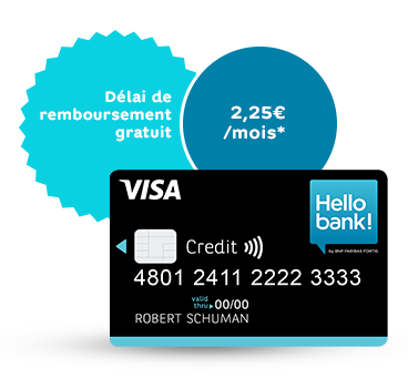 2019 Visa credit card